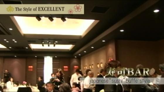 食のライブパフォーマンス「寿司バー」 目の前で職人が握る食の演出 ザ スタイル オブ エクセレント