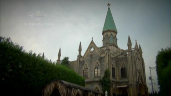 本物の『ふたりの誓い』は本物のチャーチという舞台こそふさわしい セント・パトリック教会