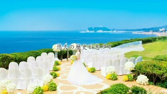 七里ヶ浜の輝く海も祝福する多様なセレモニーで、ふたりの物語が始まっていく… 鎌倉プリンスホテル