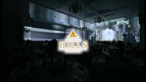最先端の技術を駆使した3Dプロジェクションマッピングの映像が感動的な披露宴を演出 ウェディングヒルズ 御所野