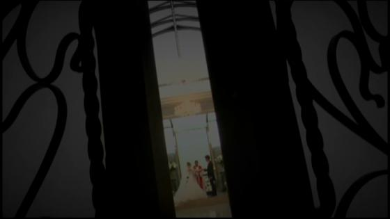 ゲストに祝福され、心温まる挙式が叶う!挙式後は大階段でフラワーシャワーを ヴィラ・グランディス ウエディングリゾート