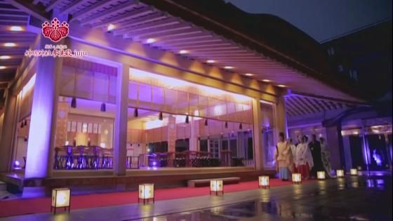 千百年の伝統と現代美がおりなす荘厳な結婚式 神明神社 参集殿 juju
