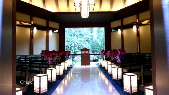 東山の森に祝福される、独立型チャペル。自然に包まれながらの挙式 アカガネリゾート京都東山 (AKAGANE RESORT KYOTO HIGASHIYAMA)