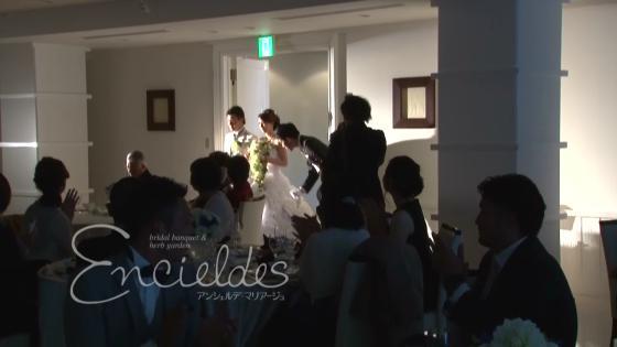 アンシェルデマリアージュのバンケット「アペルト」で感動のパーティシーンを Encieldes Mariage(アンシェルデ マリアージュ)