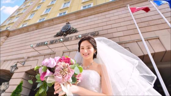 幻想的なチャペルと季節の花々が溢れるガーデンで永遠に刻まれる至福のときを叶えて ホテルモントレ札幌