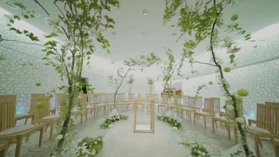 アロマ香る自然光が差し込む独立型チャペル。響き渡るオルガンの生演奏にゲストも感動 CITYPLAZA OSAKA HOTEL&SPA(シティプラザ大阪)