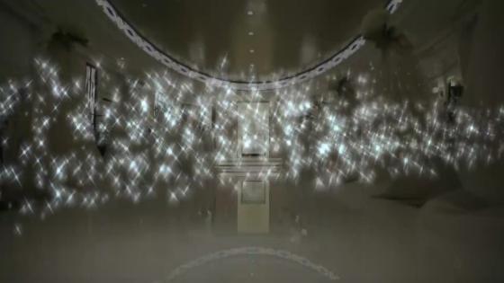 大人可愛くがテーマのチャペル。装花やスワロフスキーが輝く十字架など魅力がたくさん ホテルオークラ新潟