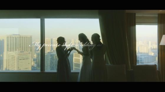 ゲストとの温かい時間を過ごす、ふたりらしいプライベートスタイルウエディング ストリングスホテル東京インターコンチネンタル