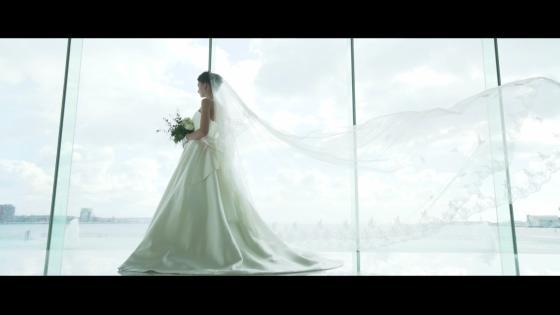 光り輝く神戸の海と絵画のような景色が彩る海の上の BON VOYAGE WEDDING ラ・スイート神戸オーシャンズガーデン