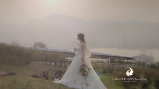 そのすべてが特別なシーンになる。花嫁のための至高の舞台 ガーデンテラス長崎 ホテル&リゾート