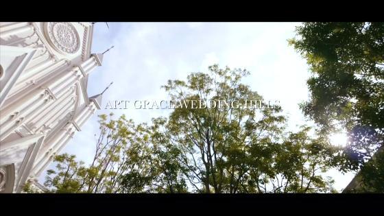鴨川沿いの広大な敷地に佇む独立型大聖堂とガーデン付貸切邸宅をふたりの祝福の舞台に 京都 アートグレイス ウエディングヒルズ