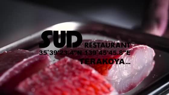 【食と美の最先端を詰め込んだレストラン】ライブキッチンからつくられる逸品 SUD restaurant TERAKOYA